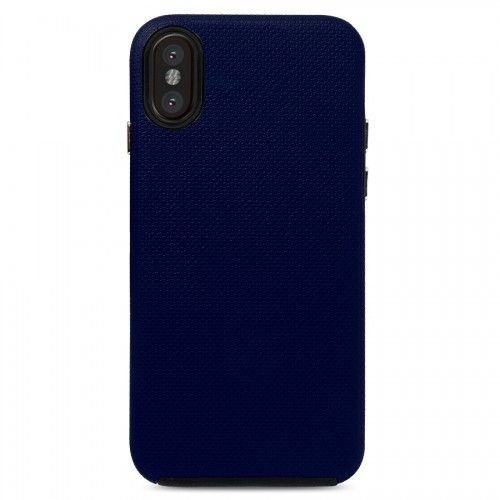 Case Dupla Antichoque Strong Duall Midnight Blue - iPhone X