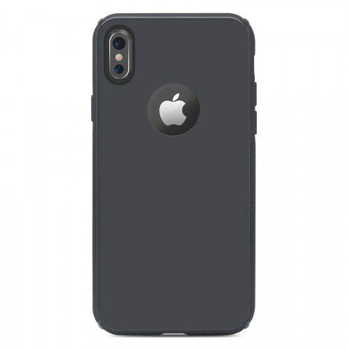 Capa Antichoque Glass Case Space Gray - iPhone X