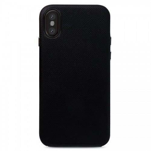 Case Dupla Antichoque Strong Duall Preta - iPhone X
