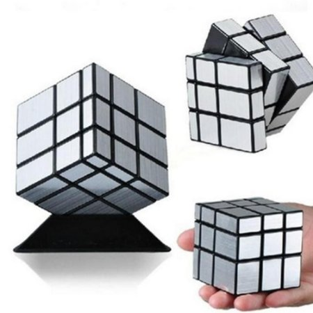 Cubo Mágico Mirror Cube espelhado Blocks Shengshou prateado