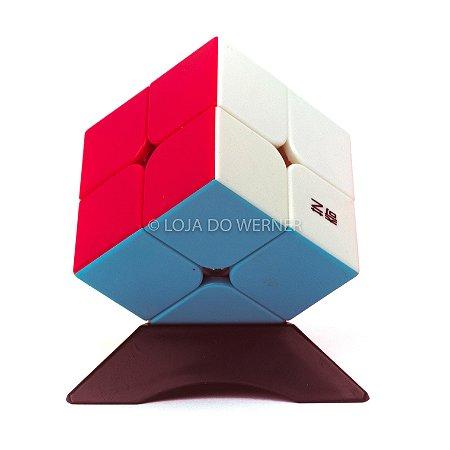 Cubo Mágico Profissional QiYi stickless 2x2x2