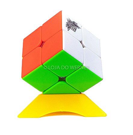 Cubo Mágico Profissional Cyclone Boys stickless 2x2x2