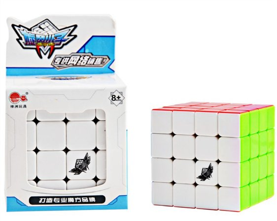 Cubo Mágico Profissional Cyclone Boys sem adesivo 4x4x4