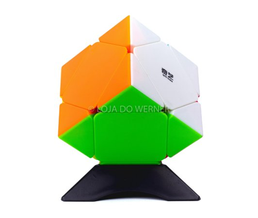 Cubo Mágico Profissional QiYi stickless skewb