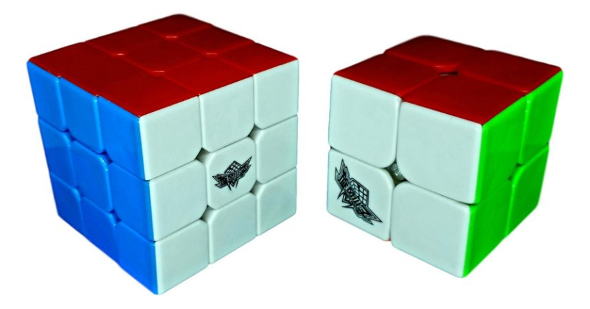 Cubo Mágico Profissional Cyclone Boys Kit 2x2x2 e 3x3x3