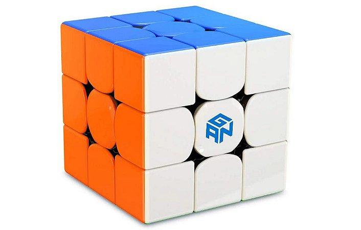 Cubo Mágico Profissional GAN 356 R stickerless 3x3x3