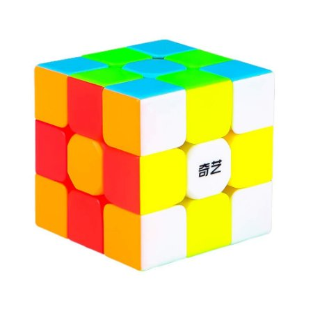 Cubo Mágico Profissional QiYi Warrior S 3x3x3 sem adesivo