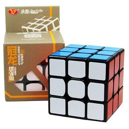 Cubo Mágico Profissional Yong Jun Guanlong 3x3x3 sem adesivo