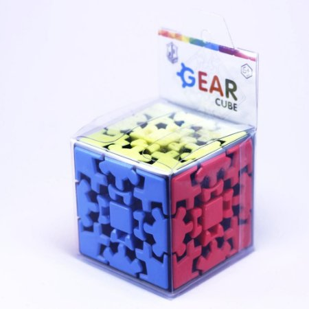 Cubo Mágico Profissional Kung Fu 3x3x3 Gear Cube Engrenagem