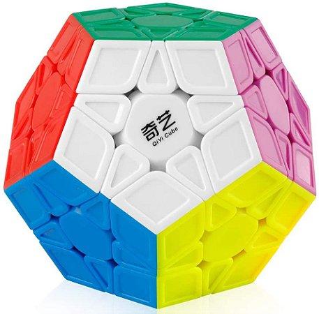 Cubo Mágico Profissional QiYi Megaminx Qiheng sem adesivo