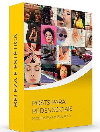 Beleza e Estética - POSTS para Redes Sociais