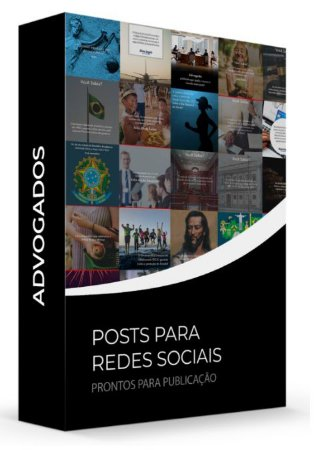 Advogados - POSTS para Redes Sociais