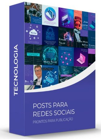 Tecnologia - POSTS para Redes Sociais