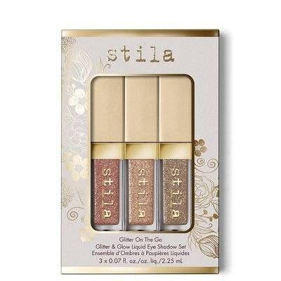 Stila - Glitter On The Go Liquid Eye Shadow Set