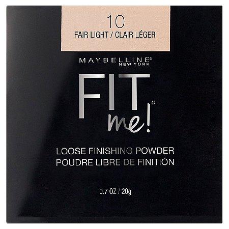Maybelline - Fit me Loose Powder - 10 Fair Light - 20G