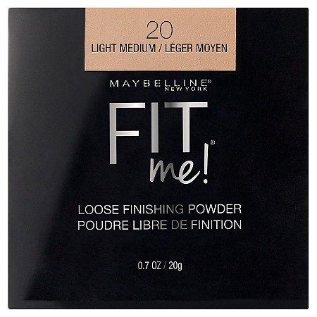 Maybelline - FitMe Loose Powder - 20 Light Medium - 20g