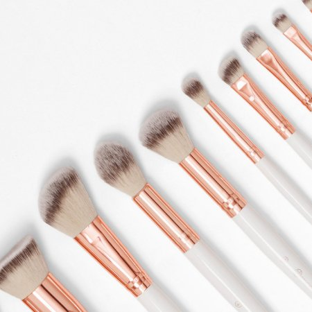 Bh Cosmetics - 12 Piece Brush Set - Rosé Romance