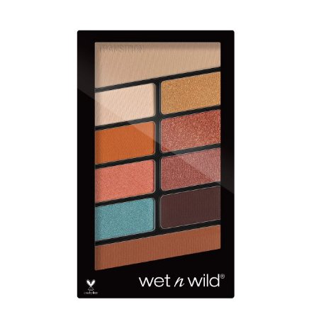 Wet n Wild - Color Icon Eyeshadow 10 Pan Palette - 760 Not a Basic Peach