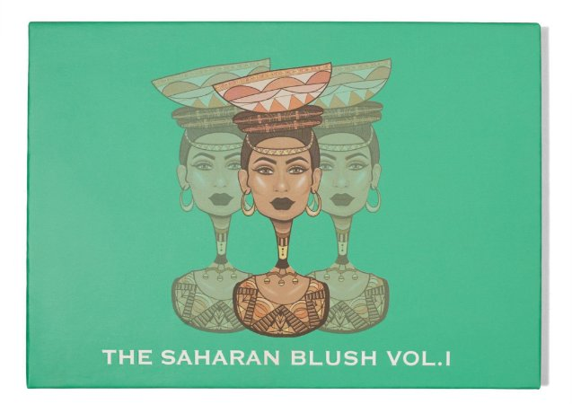 Juvia'S Place - The Saharan Blush Vol. 1