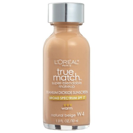 L'Oreal -  Base True Match Super-Blendable - Natural Beige W4