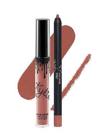 Kylie Cosmetics - Batom E Lápis Matte - Candy K
