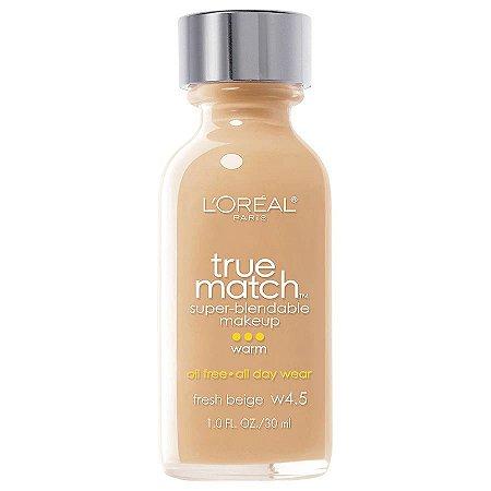 L'Oreal -  Base True Match Super-Blendable - Fresh Beige W4.5