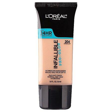 L'Oreal - Base Infallible Pro-Glow - 204 - Natural Buff