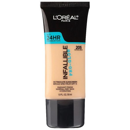 L'Oreal - Base Infallible Pro-Glow - 205 - Natural Beige