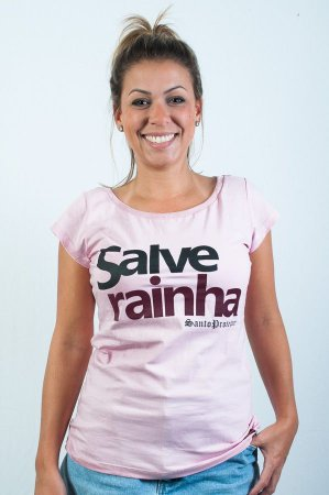 T-Shirt Salve Rainha