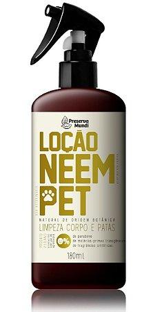 Loção Neem Pet 180ml - Proteção contra diversos micro-organismos nocivos, além do COVID-19