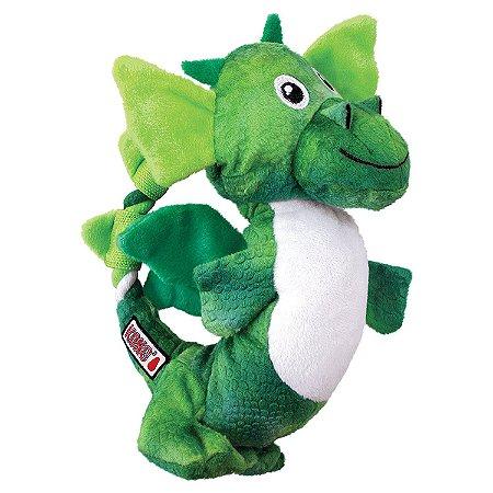 Pelúcia Kong Dragon Knots - Verde