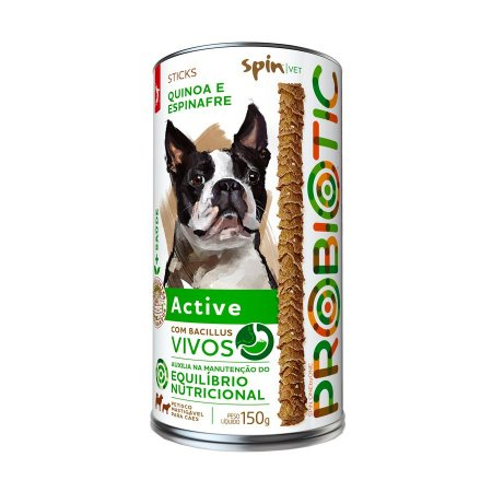 Petisco Spin Pet 150g - PROBIOTIC ACTIVE