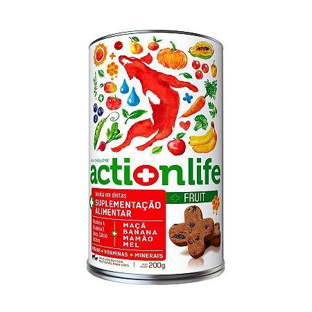 Petisco Snack ACTIONLIFE Spin Pet - 200g - Fruit