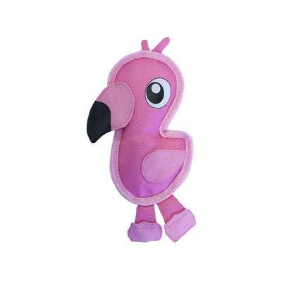 Brinquedo Ultrarresistente Invincibles Fire Biterz Flamingo Mini