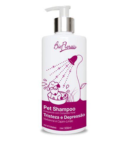 Shampoo Bio Florais para TRISTEZA E DEPRESSÃO - 500ml