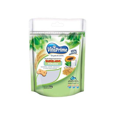 Biscoito Integral Premium Super Mini Filhotes - VitaPrime 180g