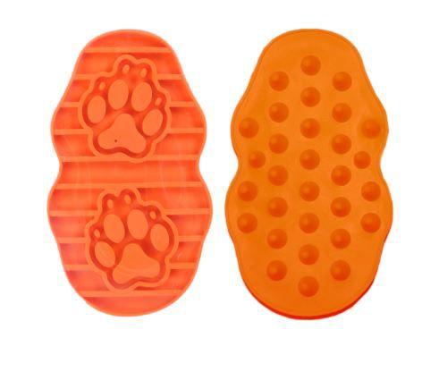 Escova massageadora para cães - Laranja Pawise
