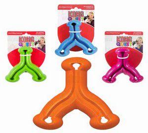 Brinquedo Recheável Kong Quest Wishbone G - Cores variadas