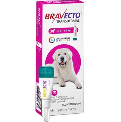 Bravecto Antipulgas Transdermal para Cães de 40 A 56 kg