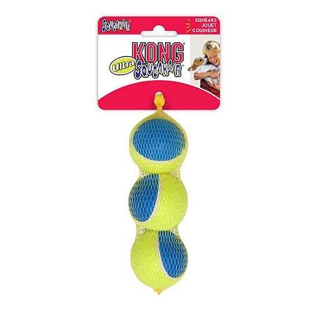 Brinquedo para Cães KONG SqueakAir Ultra Bola de Tênis M
