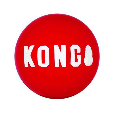 Brinquedo KONG Signature - Bola Resistente G