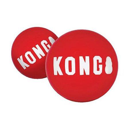Brinquedo KONG Signature - Bola Resistente M