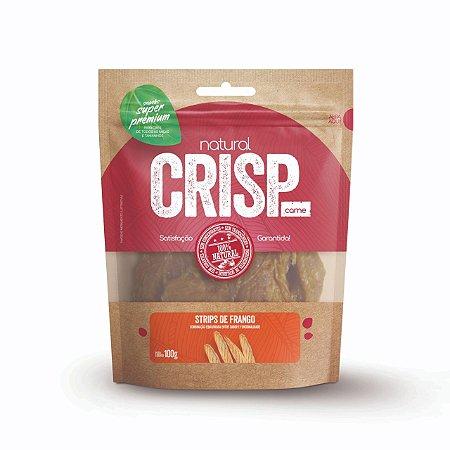 Petisco Natural Crisp - Strips de Frango 100g