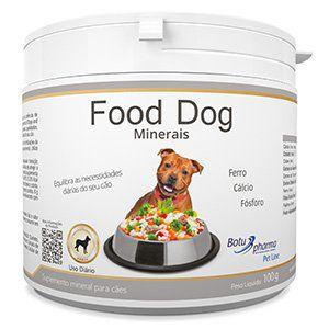 Suplemento Alimentar para Cães Food Dog Minerais - 100g