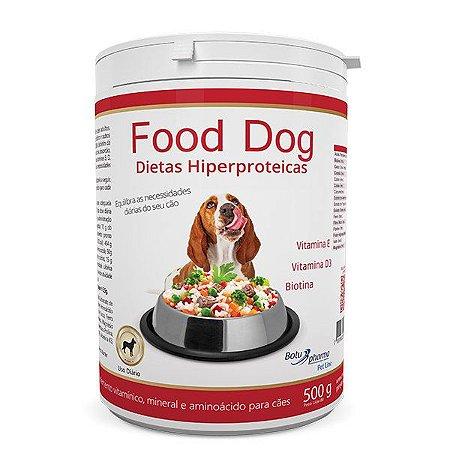 Suplemento Alimentar para Cães Food Dog Dietas Hipercalóricas - 500g