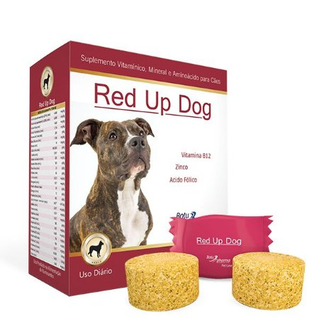Suplemento para Cães Red Up Dog - Botupharma