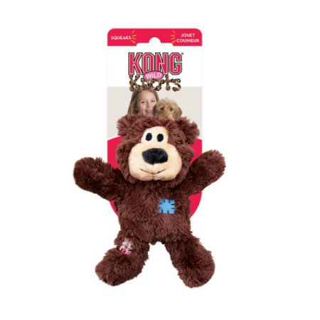 Pelúcia com Corda Kong Wild Knots Urso - PP