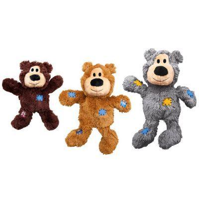 Pelúcia com Corda Kong Wild Knots Urso - M