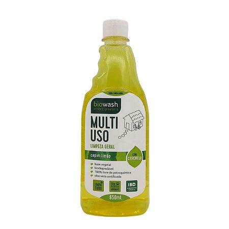 Multiuso Biowash Natural - Capim Limão 650ml Refil