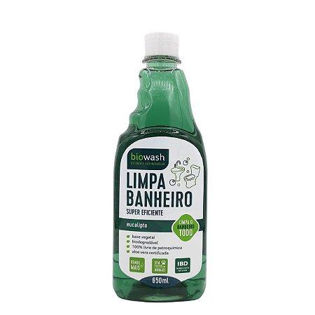 Limpa Banheiro Biowash Natural - 650ml Refil